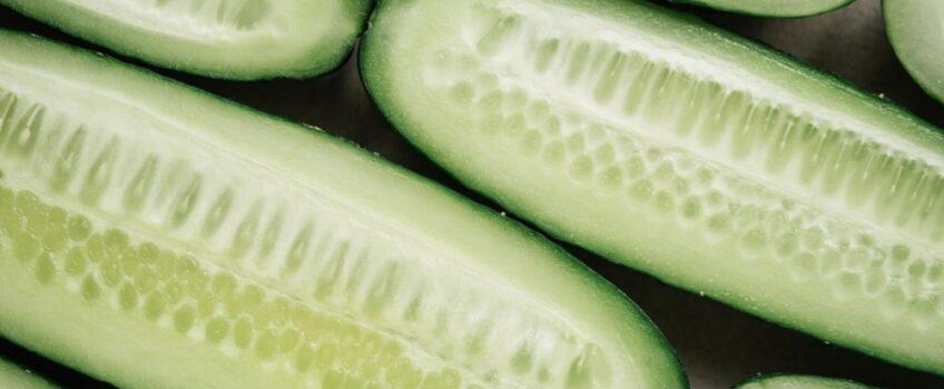 Komkommersoep met munt